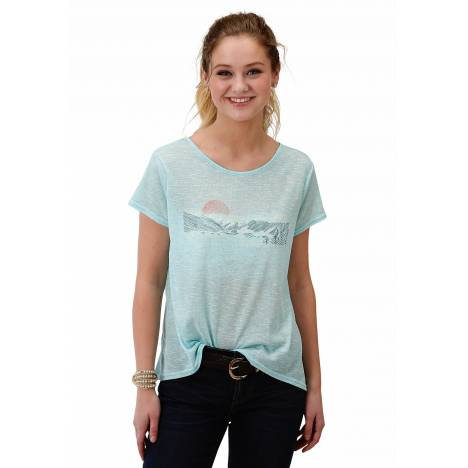 Roper Ladies 1608 Poly Cotton Knit Tee