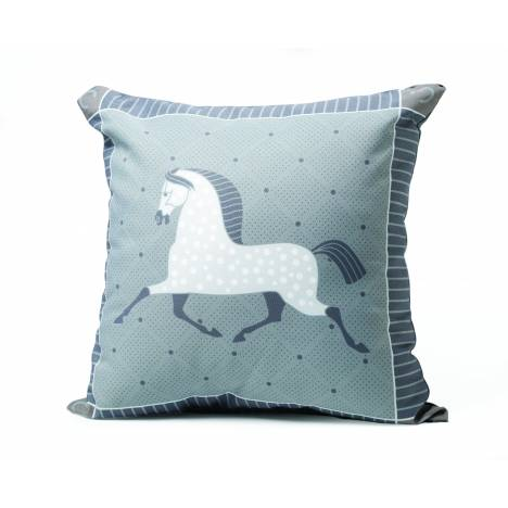 Kelley Dapple Grey Throw Pillow