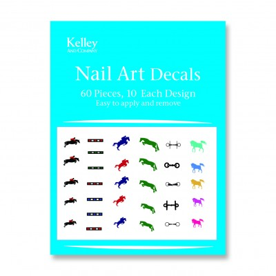 Kelley Jumper Horse Nail Art Decals