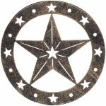Gift Corral Star Stool Motiff