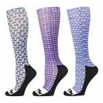Equine Couture Lola Padded Boot Socks - 3 Pack