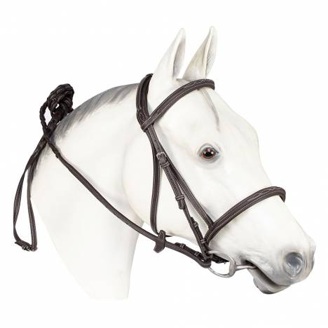 Henri De Rivel Kushy Fancy Stich Leather Bridle