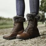 Dublin Ladies Bourne Boot - Red Brown - 8