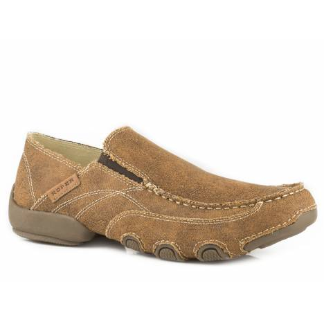 Roper Men's Dougie Shoe - Tan