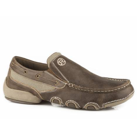 Roper Men's Skipper Shoe - Vintage Brown