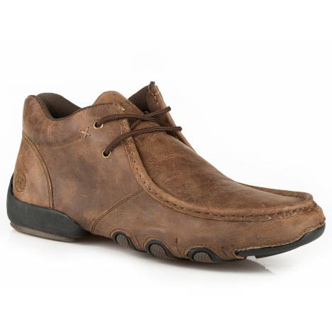 Roper Men's High Cruiser Chukka Shoe - Vintage Brown
