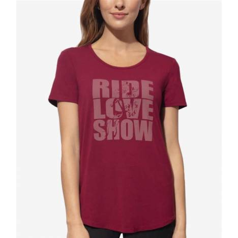 Chestnut Bay Ladies Rider Fashion Tee - Love Show