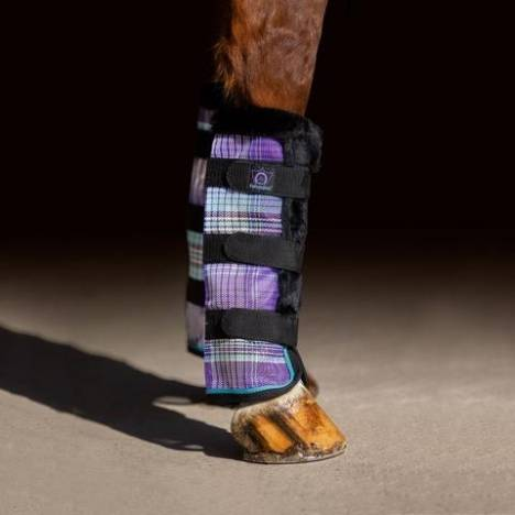 Kensington Protective Fly Boots With Fleece Trim