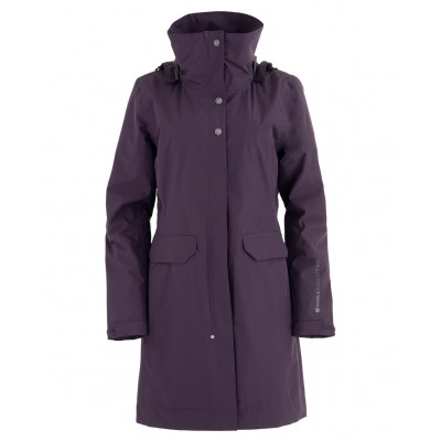 Noble Equestrian Dynamic Performance Parka - Grape Royale - X-Small