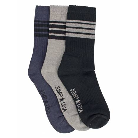 JumpUSA Full Length Sport Socks Mens