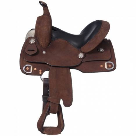 Royal King Roughout Youth Trainer Saddle