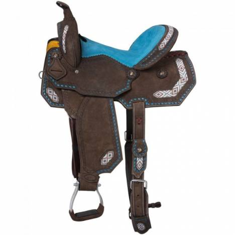 Tough-1 Sonora Barrel Saddle