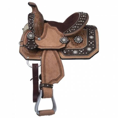 Silver Royal High Noon Barrel Saddle