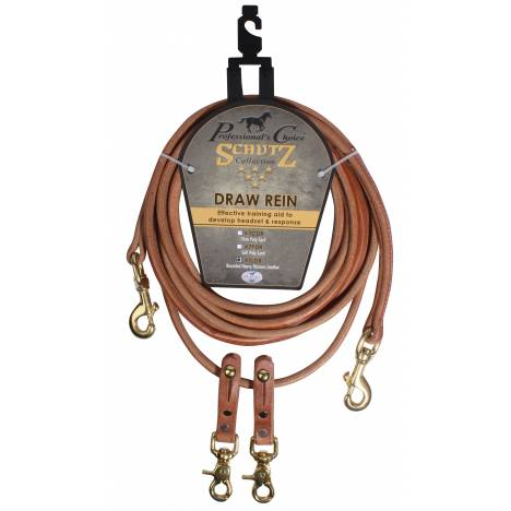 Schutz By Professionals Choice Rounded Draw Reins