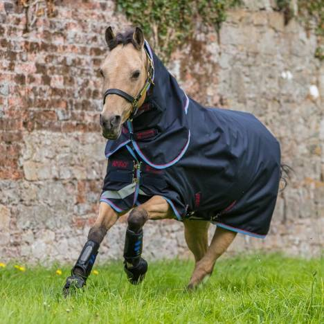 Amigo Bravo 12 Plus Pony Turnout Blanket (0g Lite)