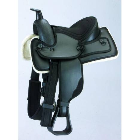 Kincade Redi-Ride Kids Western Saddle