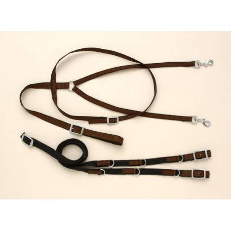 Performers 1st Choice Nylon German Martingale Rein Set