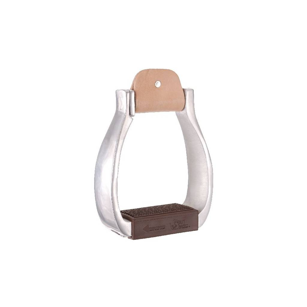 Tough-1 Aluminum Breakaway Stirrup - Adult