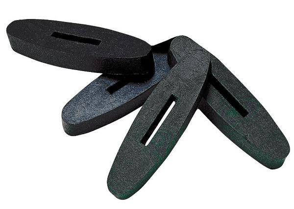 Kincade Rein Stoppers Rubber Pair