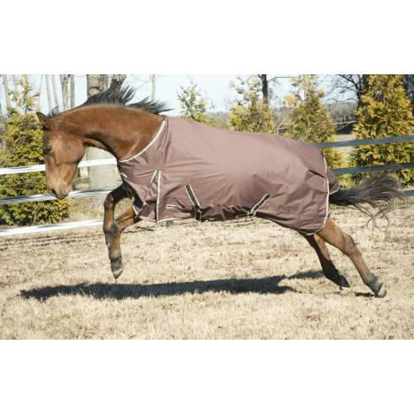 McAlister 600D Waterproof Turnout Sheet with Piping
