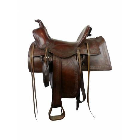 Used - 1917 US Military Saddle