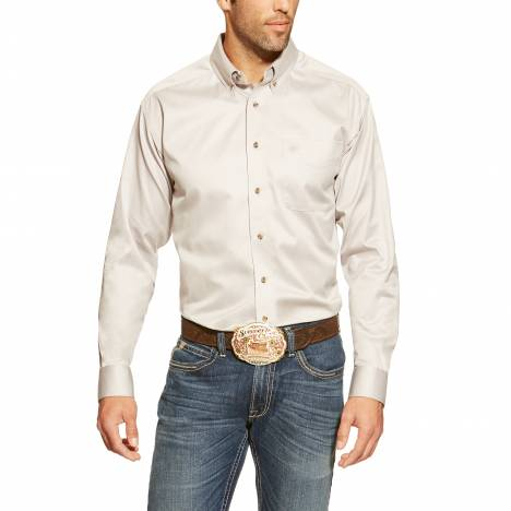 Ariat Mens Solid Twill Shirt
