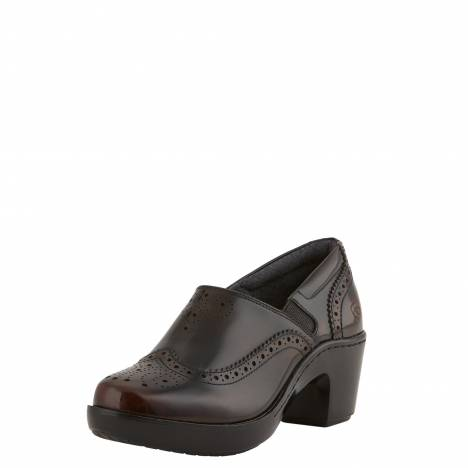 Ariat Ladies Bradford Clog - Burgundy
