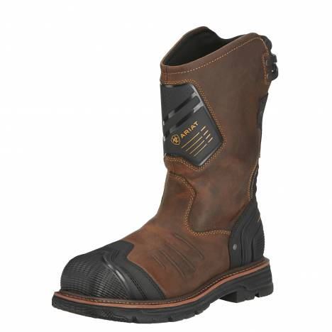 Ariat Mens Catalyst VX Wide Square Composite Toe Work Boots - Earth