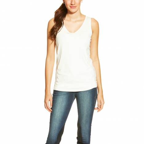 Ariat Ladies Gazelle AC Tank Top - White