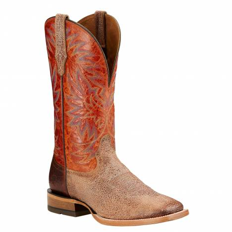 Ariat Mens High Call Square Toe Tall Western Boot - Quicksand Sunset