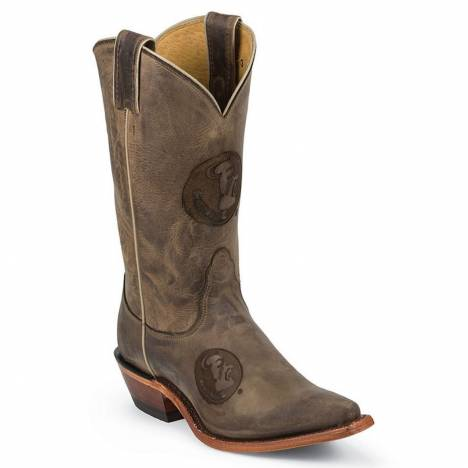 Nocona Boots Ladies Florida State University Cowhide Branded Cowboy Boots