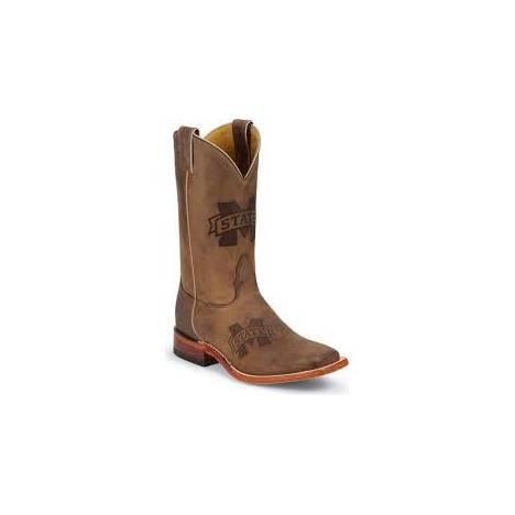 Nocona Boots Ladies Mississippi State Branded Cowboy Boots