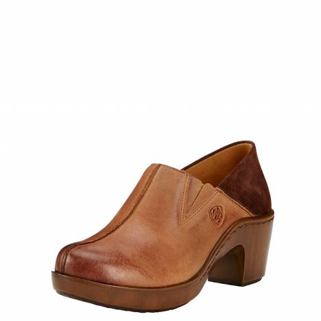 Ariat Ladies Kickback Clogs - Burnt Sugar