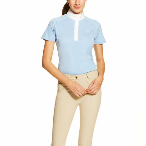 Ariat Ladies Showstopper Top - Blue Oxford