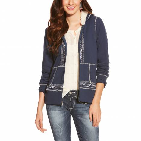 Ariat Ladies Kristy Hoodie - Insignia Blue