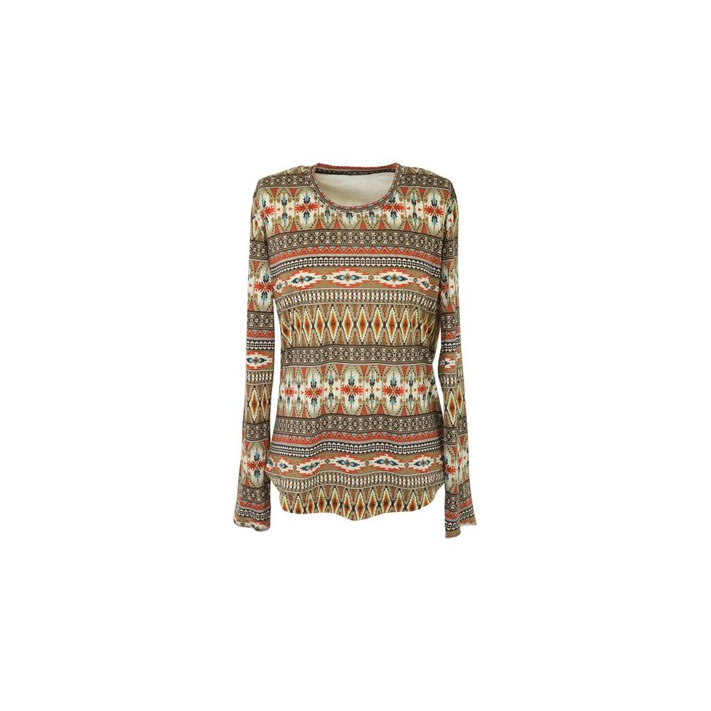 Outback Trading Ladies Tribal Tee
