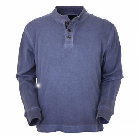 Outback Trading Mens Thermal Henley