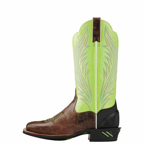 Ariat Ladies Catalyst Prime - Brush Country Brown/Lime