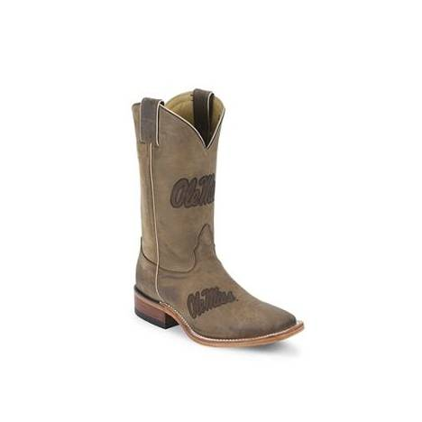Nocona Boots Men's Ole Miss Branded Boots