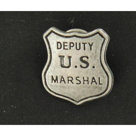 US Deputy Marshal Toy Badge Pin