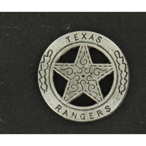 Texas Rangers Toy Badge Pin