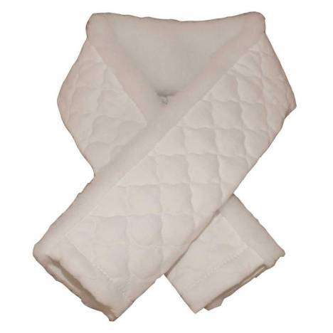 English Girth Fleece Cover with Quilted Back