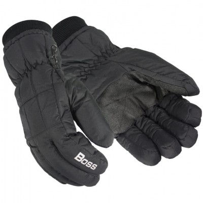 BOSS Fleece-Lined Trail Wise Gloves - Black - X-Large