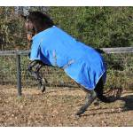 WorldBeater 1200D Waterproof Turnout Blankets - Royal with Silver - 87