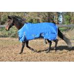 WorldBeater 1200D Waterproof Turnout Sheets - Royal with Silver - 96