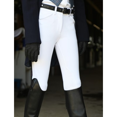 KAKI Equestrian Riding Breeches - White - 16