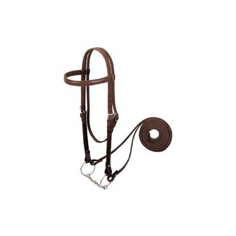Weaver Leather Draft Horse Riding Bridle
