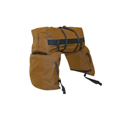 Lami Cell Large Saddle Bags With Detachable Cantle
