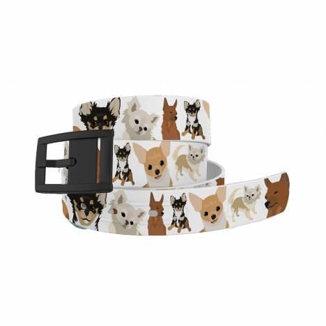 C4 Belt Chihuahua Belt with Black Buckle Combo