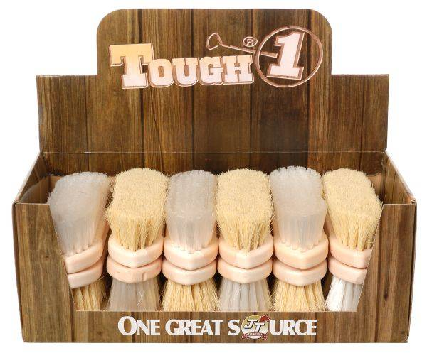 12 Pack Finishing Brush Display